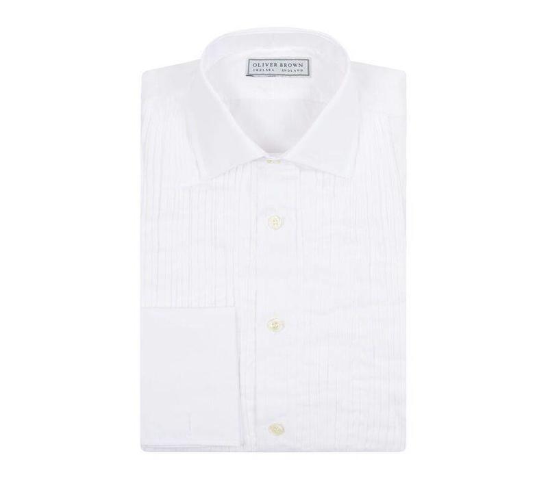 Pleated Dress Shirt, Classic Collar