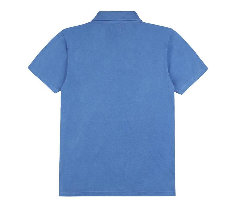 Polo Shirt, Cotton - Navy