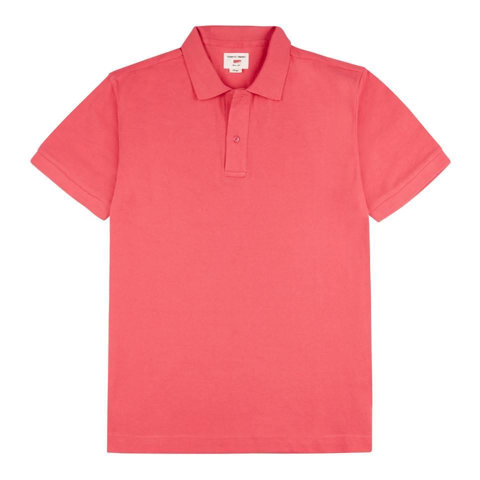 Polo Shirt, Pique - Red