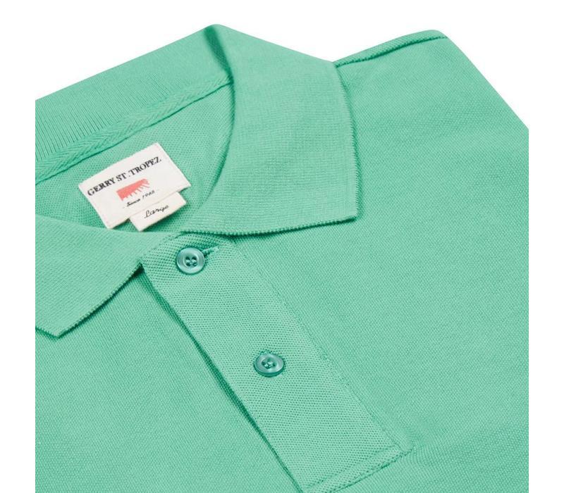 Polo Shirt, Pique - Sea Green