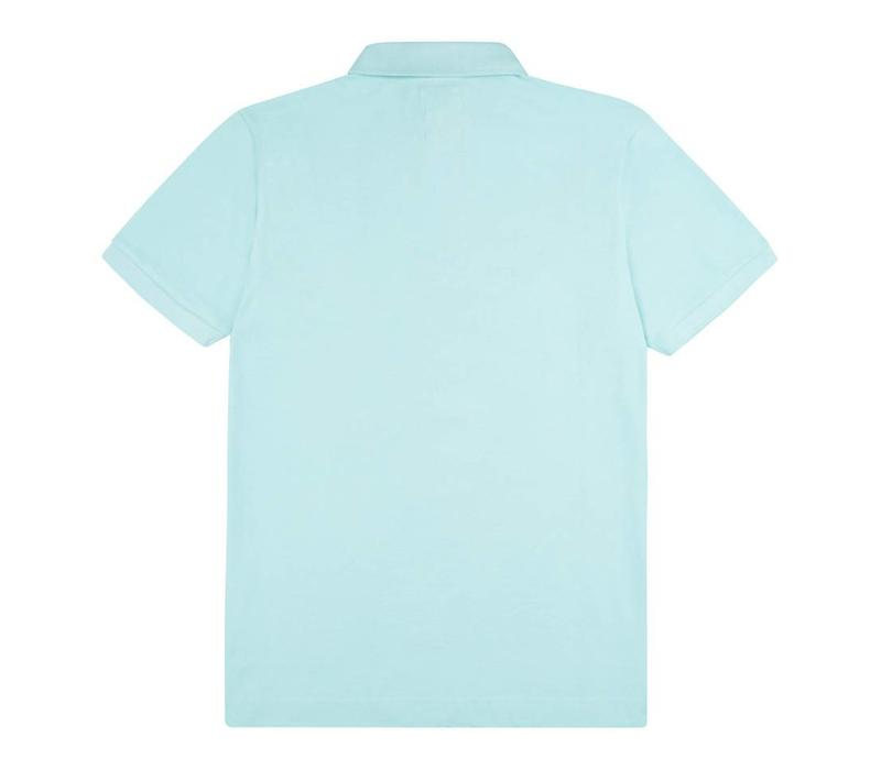 Polo Shirt, Pique - Turquoise