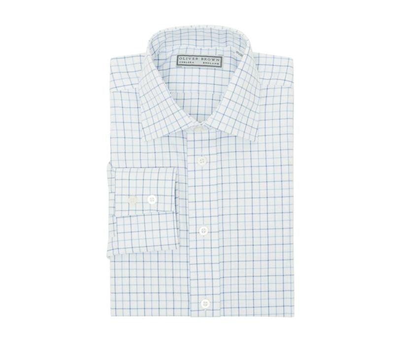 Country Checked Shirt - Blue/Sky