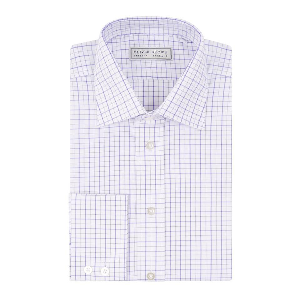 Checked City Shirt - Purple/Black