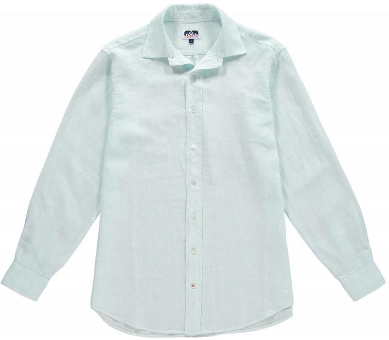 Love Brand & Co. Classic Linen Shirt - Sea Air