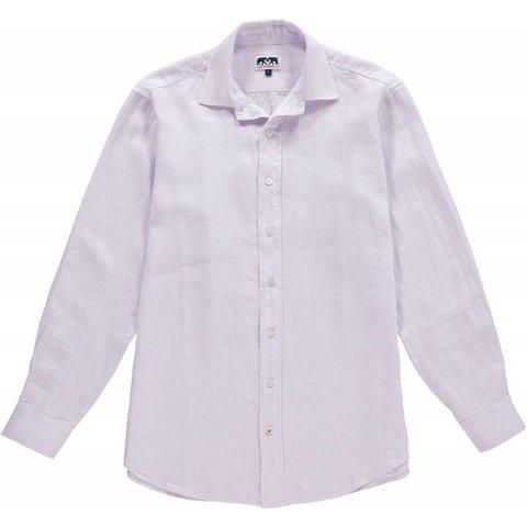 Love Brand & Co. Classic Linen Shirt - Lavender