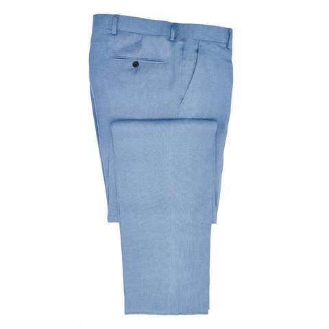 Linen Trousers - Summer Blue