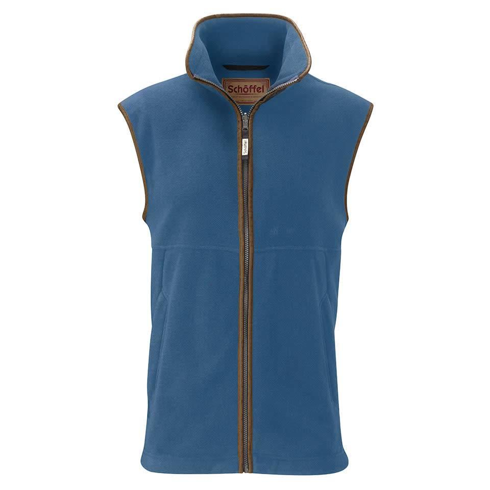 Schoffel Oakham Fleece Gilet - Denim