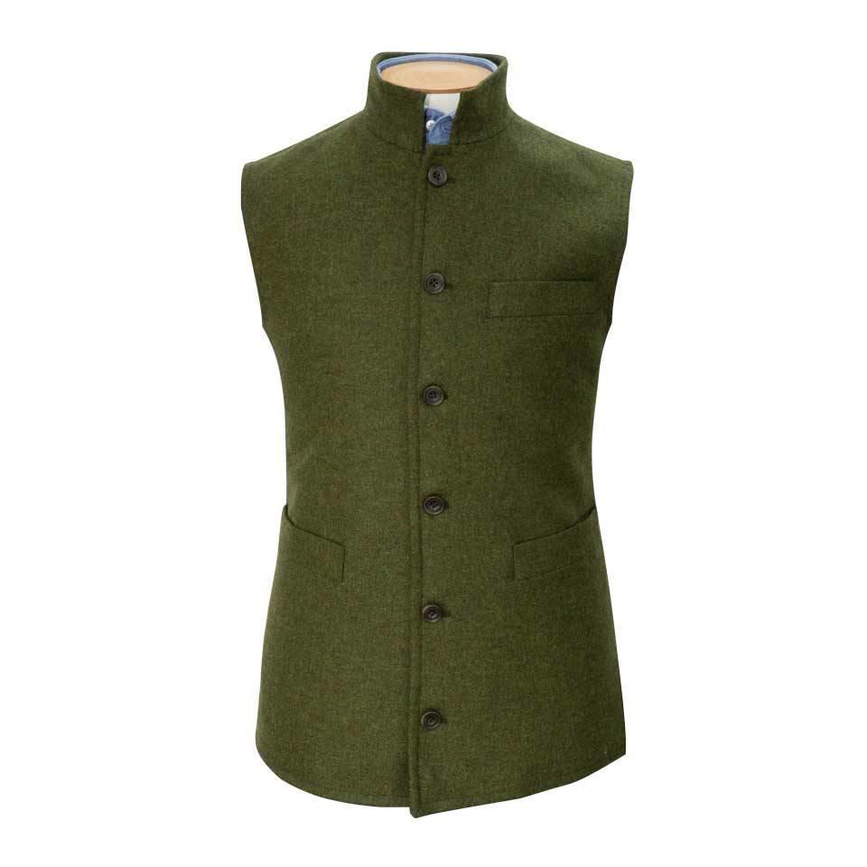 Gilet - Moss Tweed