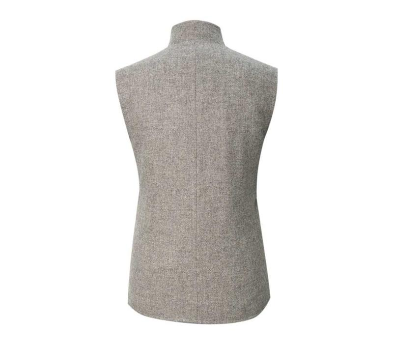 Gilet - Grey Twill Tweed