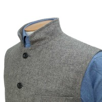 Gilet - Grey 2018 Tweed