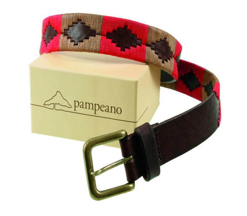 Pampeano Argentine Polo Belt, Fuego