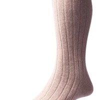 Pantherella Cashmere Socks - Natural