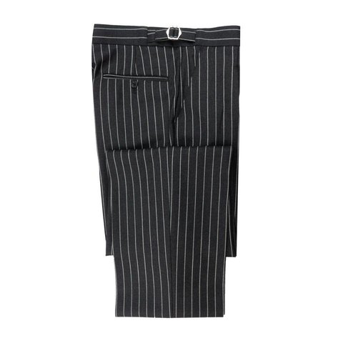 City Suit Trousers, Chalkstripe - Grey