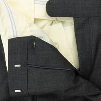 City Suit Trousers, Plain - Grey