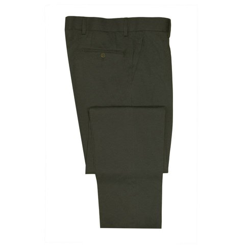 Cotton Drill Trousers - Olive