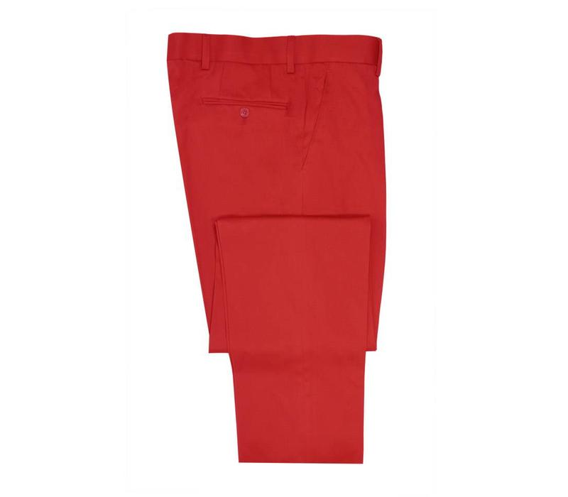 Lightweight Cotton Trousers - Red