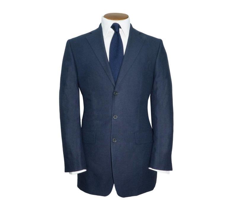 Edgerton Linen Jacket - Navy