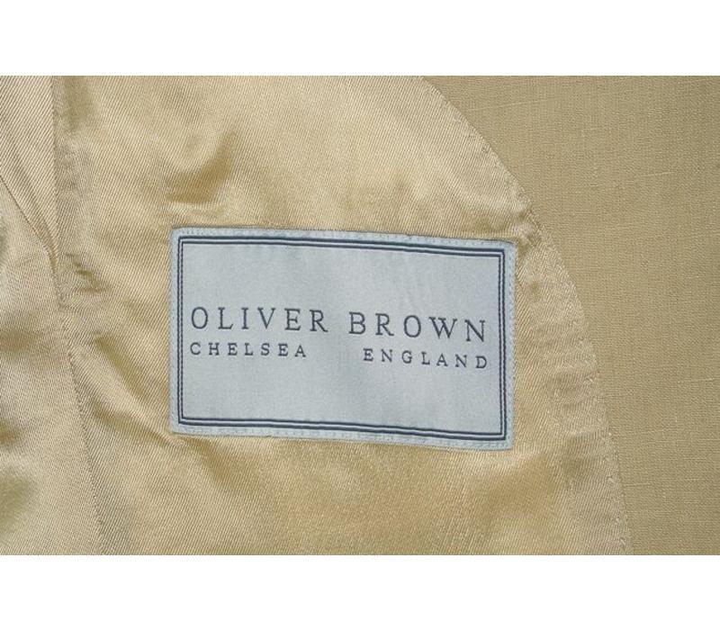 Ashburn Jacket - Sand Linen