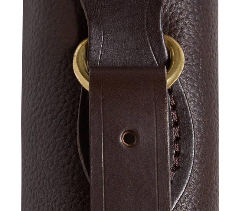Single Mottled Leather Gun Slip