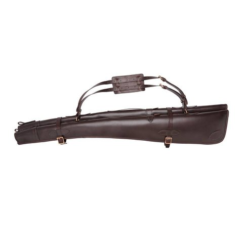 Double Plain Leather Gun Slip