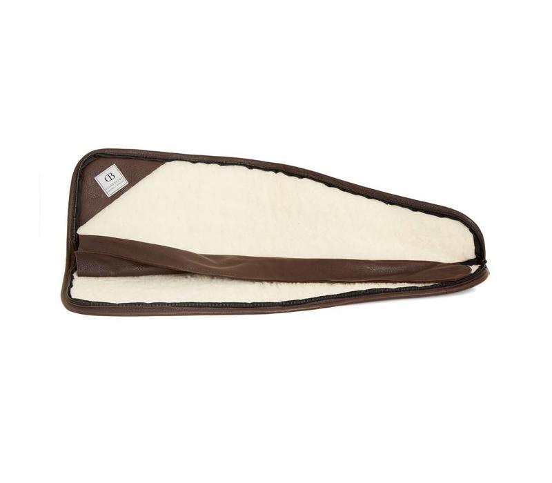 Mottled Leather Leg O'Mutton Gun Slip