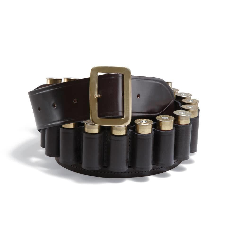 Malton Bridle Leather Cartridge Belt