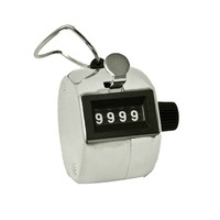 Bisley Tally Counter - Silver