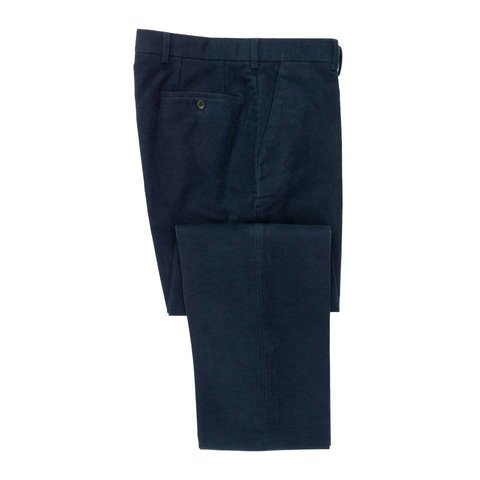 Moleskin Trousers - Navy