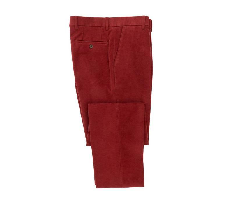 Moleskin Trousers - Red