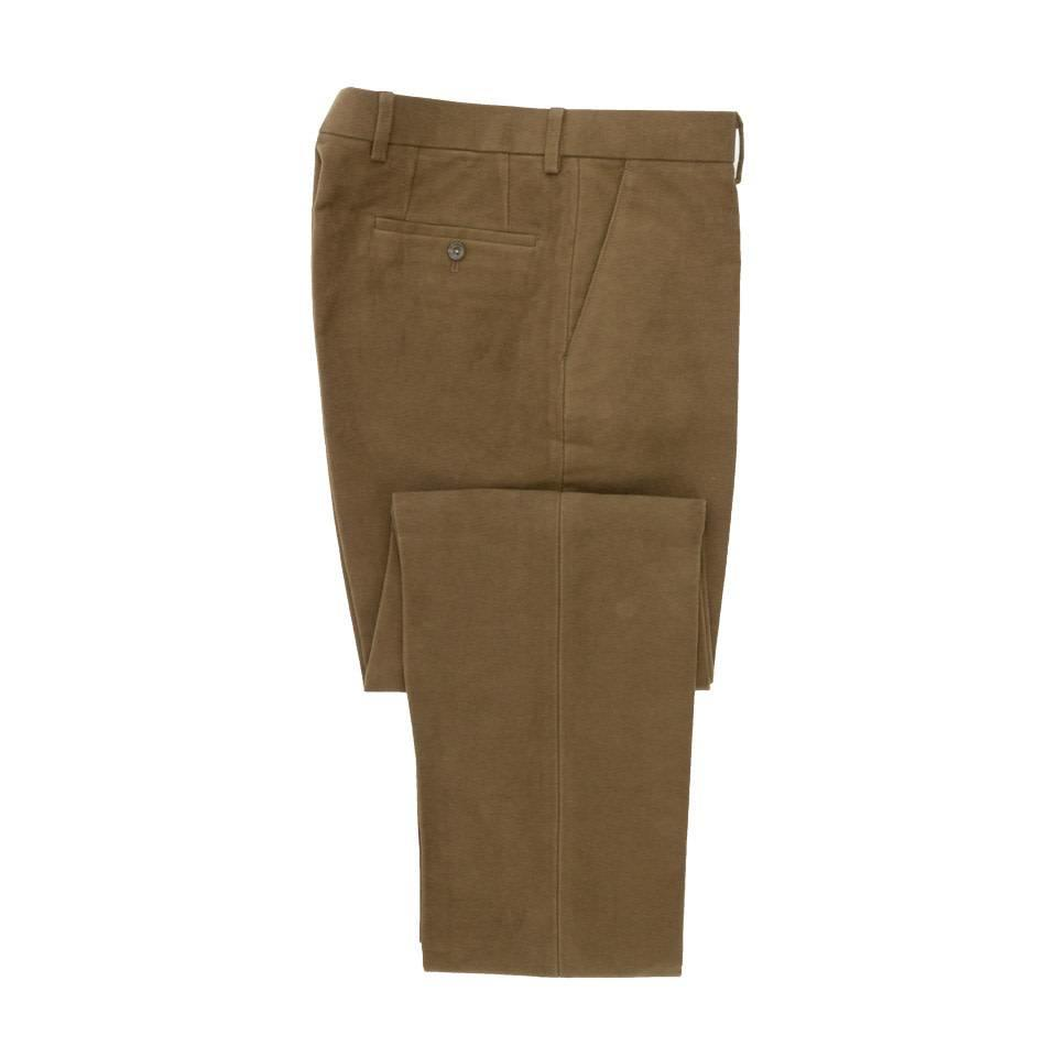 Moleskin Trousers - Tan