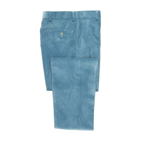 Heavyweight Corduroy Trousers - Sky Blue