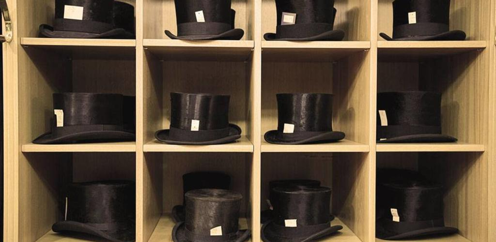 Antique Silk Top Hats