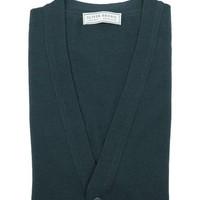 Merino Waistcoat - Bottle Green