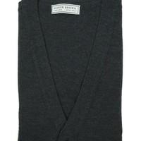 Merino Waistcoat - Dark Grey
