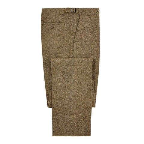 Pleated Trousers - Deveron Tweed