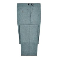 Pleated Spey Tweed Trousers