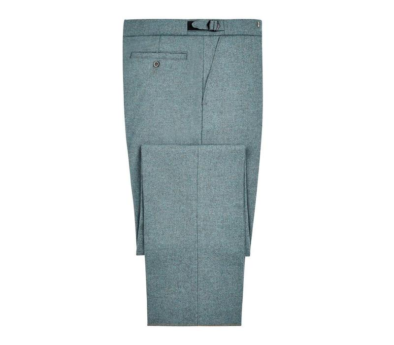 Pleated Trousers - Spey Tweed