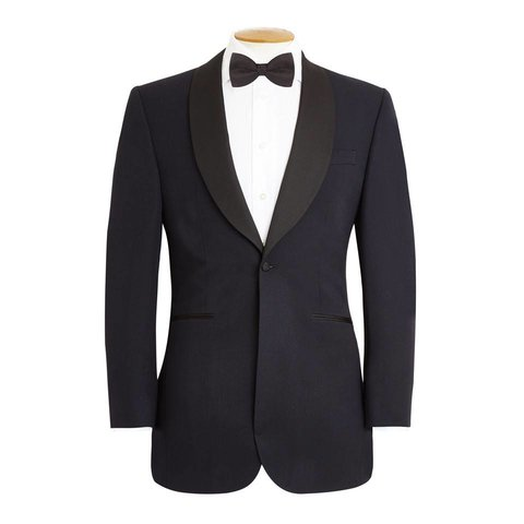 Shawl Collar Midnight Blue Dinner Suit