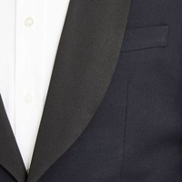 Single Breasted Dinner Suit, with Shawl Collar - Midnight Blue