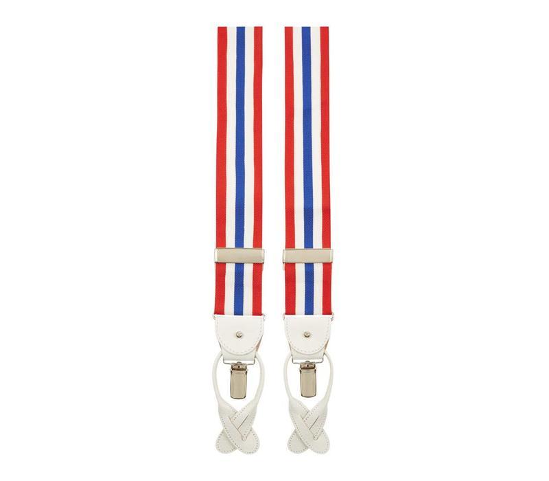 Royal Ascot Striped Woven Braces