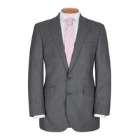 Hand Finished Eaton Suit - Dark Grey