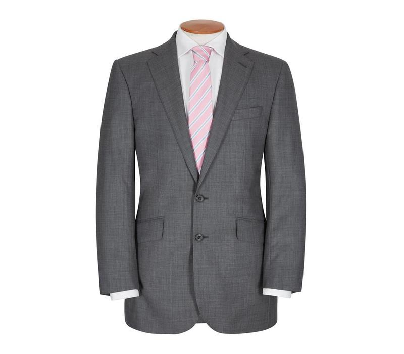 Hand Finished City Suit - Grey
