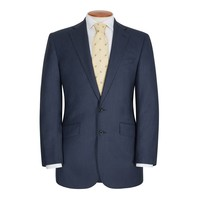 Hand Finished Eaton Suit - Navy