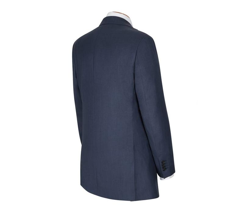 Hand Finished City Suit - Navy