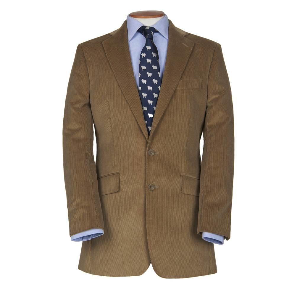 Eaton Jacket - Beige Needlecord