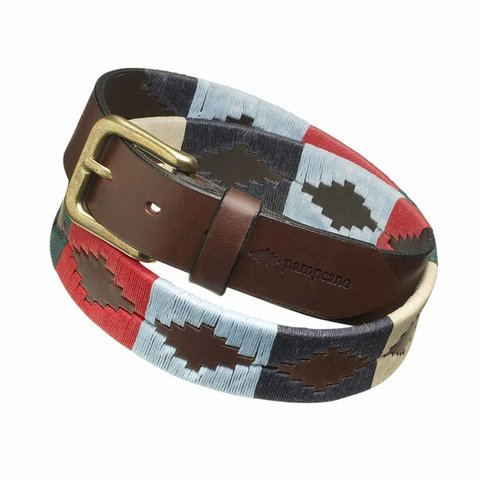 Pampeano Argentine Polo Belt, Multi