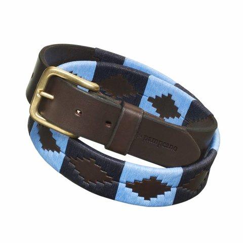 Pampeano Argentine Polo Belt, Azules