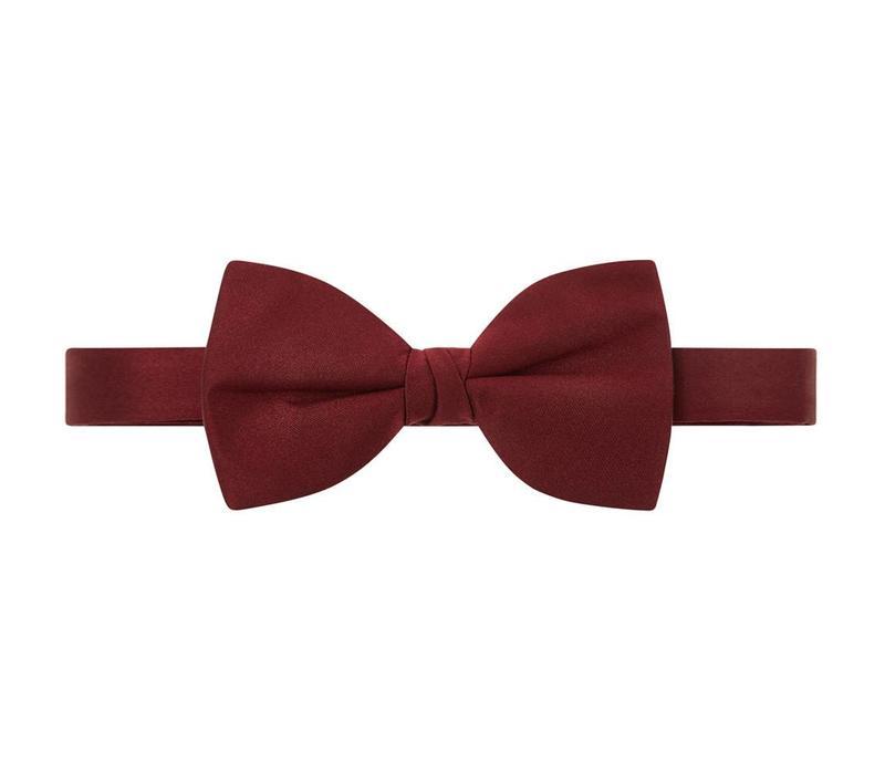 Silk Satin Bow Ties - Ready Tied