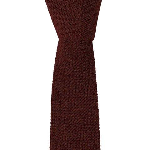 Cashmere Tie - Burgundy