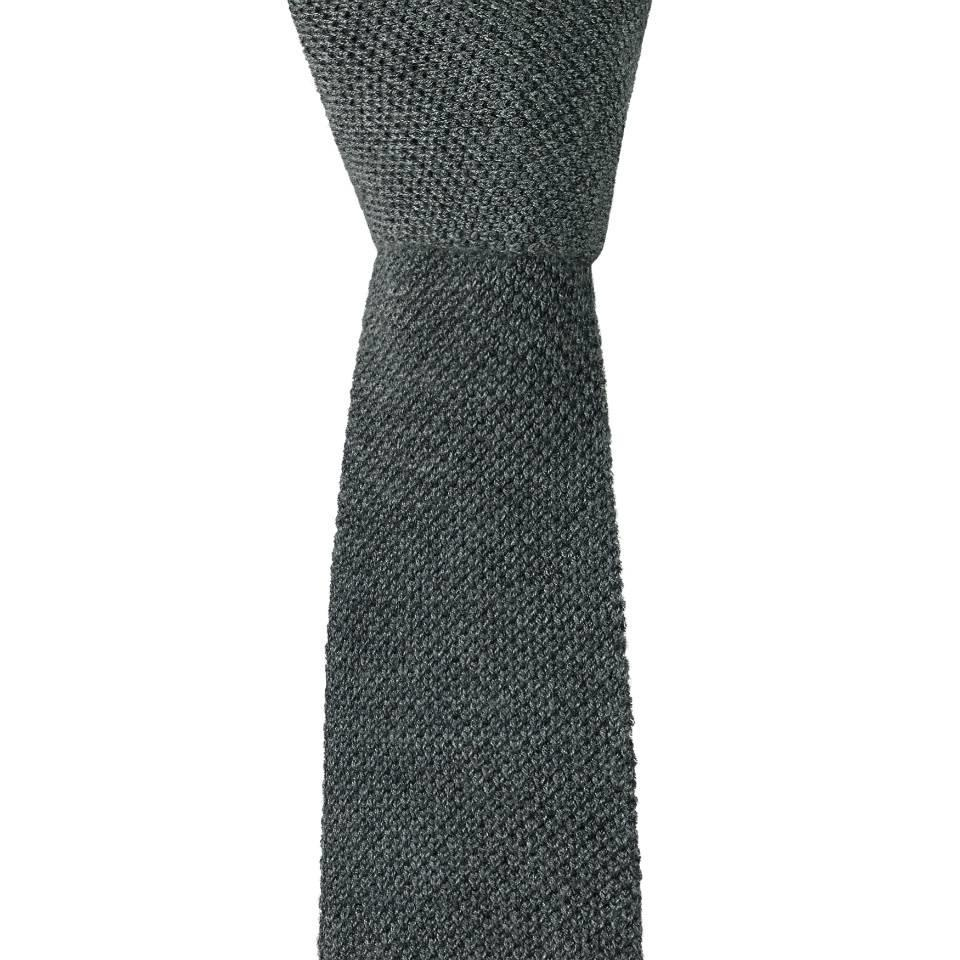 Cashmere Tie - Grey
